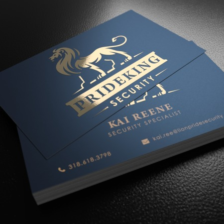 Foil Business Card Printing - Metallic Cards with Spot UV UPrinting